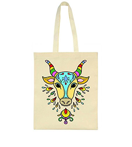 Beautiful Pongal Cow Tote Bag Cow Beautiful Bag Pongal Beautiful Pongal Tote gwfxY1Eq8x