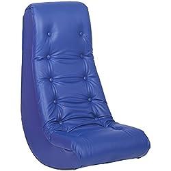 ECR4Kids Soft Rocker Chair, Blue