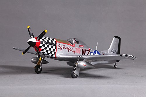 FMS P51 Mustang V2 Big Beautiful Doll RC Airplane 4CH 800mm (31.5