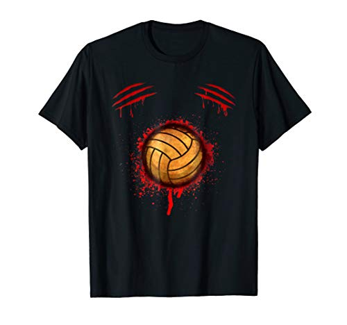 Zombie Volleyball Player T-shirt Halloween Costume