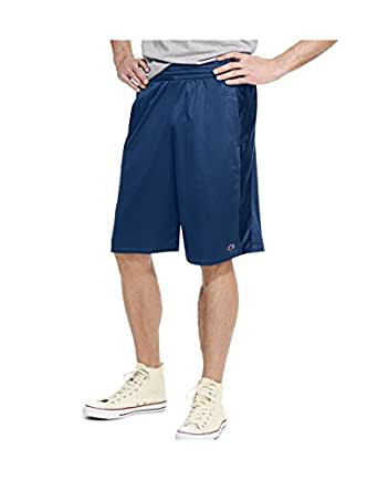 Champion Textured Dazzle Mens Basketball Shorts, Navy, Size - M
