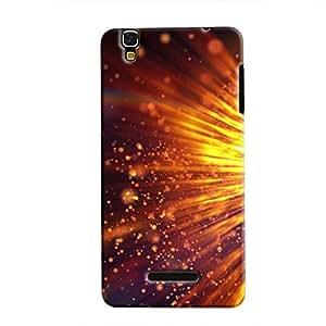 Cover It Up - Gold Exploding YU Yureka Hard Case