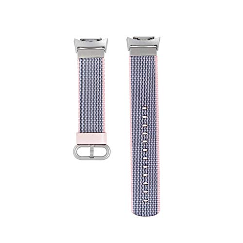 BIYATE Band for Samsung Gear S2 Sport Smart Watch SM-R720/R730, Replacement Woven Nylon Sport Hook and Loop Fastener Watch Band Bracelet Strap for Women Men