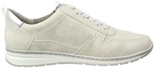Sapporo Jenny Silber Weiß offwhite Donna Sneaker fdTa4