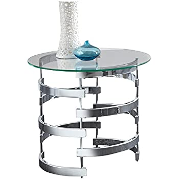 "Steve Silver Company Tayside End Table, 23"" W x 23"" D x 25"" H"