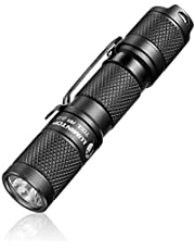 LED small Flashlight,Pocket-Sized EDC Flashlight - LUMINTOP Tool AA 2.0, Super Bright 650 Lumens, 5 Modes with Mode Memory, IP68 Waterproof, Powered by AA or 14500,Perfect for,Camping, Hiking, etc