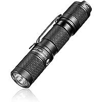 LED small Flashlight,Pocket-Sized EDC Flashlight - LUMINTOP Tool AA 2.0, Super Bright 650 Lumens, 5 Modes with Mode…