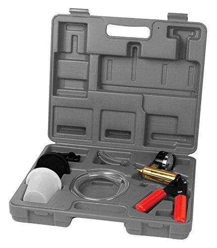 Performance Tool W89727 Automotive Vacuum Pump Kit & Brake Bleeder Kit ()