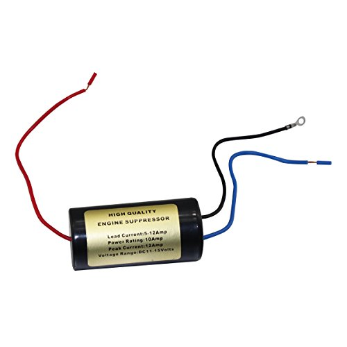 Kenwood Original PG-3B Noise Filter between the mobile transceiver and vehicle battery.