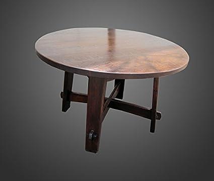 Early U0026 Rare Antique Gustav Stickley Table W1820