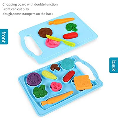 Pony Toy Playdough Kitchen Pretend Play Accessories Creations Set for boys and girls,Contains No Dough: Toys & Games