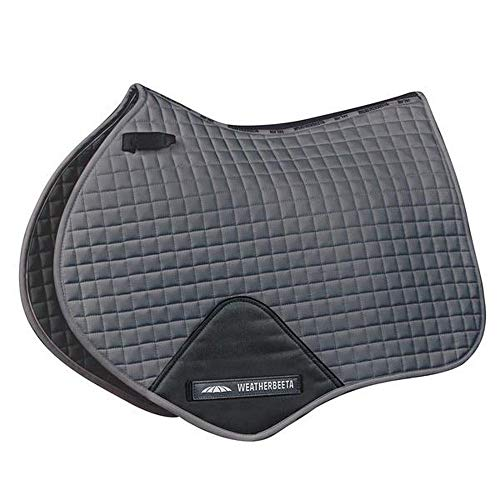 Weatherbeeta Prime Jump Shaped Saddle Pad (Pony) (Gray)