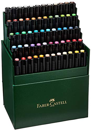 Faber Castell 60 Piece Pitt Artist Brush Pen Set Gift Box