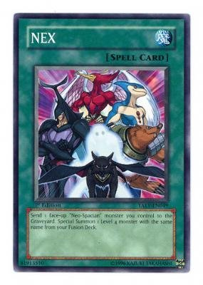 Yu-Gi-Oh! - NEX (TAEV-EN049) - Tactical Evolution - 1st Edition - Common