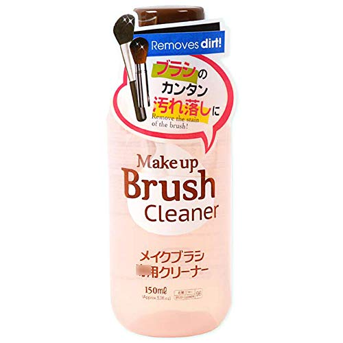 DAISO Makeup Brush Cleaner DETERGENT CLEANING FOR MARKUP PUFF AND SPONGE, Remove The Stain of The Brush, 150ML
