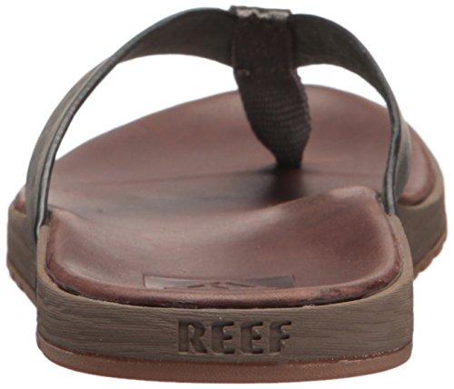 grey Reef Le Voyage Contoured brown Infradito Marrone Bgy Uomo 1q10rUw