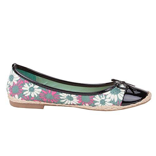 ... Ital-Design Damen Schuhe, 189-3, Ballerinas Grün
