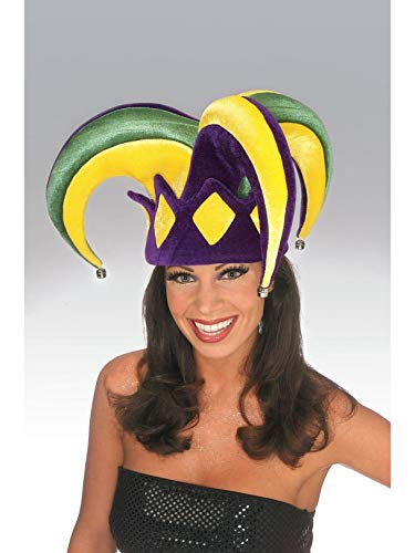Rubie's Mardi Gras Royale Jester Hat, Adult -