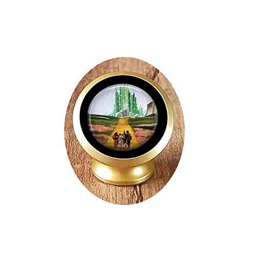 Yellow Brick Road Pendant, Wizard of Oz Necklace, Oz Jewelry, Emerald City Pendant, Oz Pendant Magenetic car Phone Mount Holder
