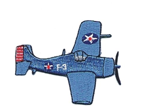 F4f Wildcat Fighter - 2pcs F4F Wildcat Allied Naval Carrier Based Fighter Embroidery Applique Patch