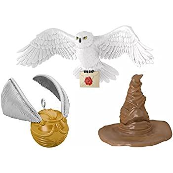Hallmark 2016 Christmas Ornament A Harry Potter Collection  Set of 3 Mini Ornaments