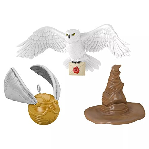 Hedwig, Sorting Hat and Snitch