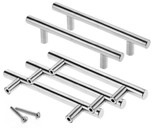5 Stück, 96 mm, mit Aussparungen Türknauf für Küchenschränke