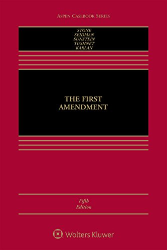 1454868244 - The First Amendment (Aspen Casebook)