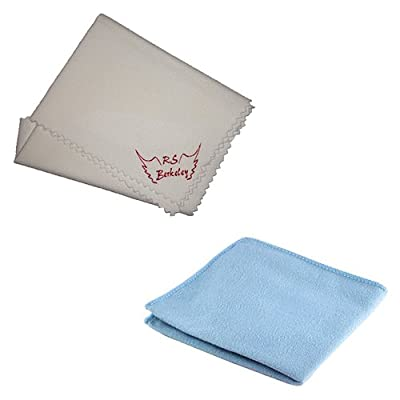 Tuba Silver Polish Cloth & Cleaning Cloth Duo Pack - Ultimate Tuba Cleaner System by RS Berkeley from RS Berkeley