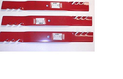 (3 Pack) 99-615 Oregon Gator Mulcher Blades Compatible With Grasshopper 320243, 32042