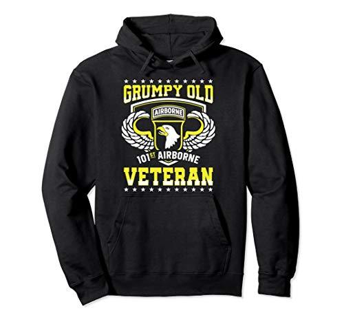 Grumpy Old 101st Airborne Division Veteran Hoodie