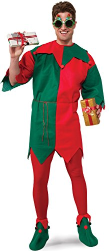Rubie's Men's Economy Elf Tunic, Multicolor, One Size]()
