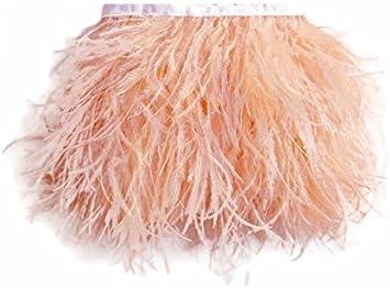 1 M pintades feather Fringe Trim pour Artisanat Costume Coudre Millinery decor
