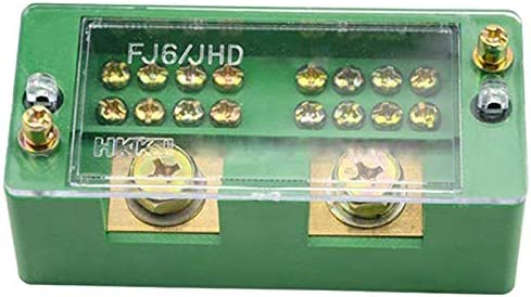 2 Ingresso 8 Uscita CUHAWUDBA 660 V 30A Monofase 2 Ingresso 8 Uscita Contatore Scatola Giunzione Scatola di Distribuzione Alimentazione Morsettiera