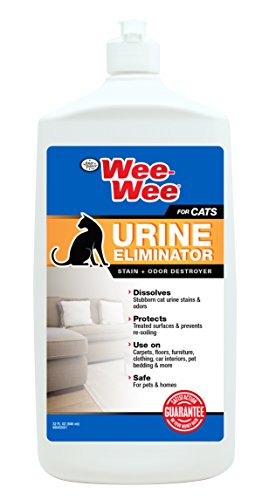 Four Paws Wee-Wee Cat Urine Eliminator Stain & Odor Destroyer, 32 oz