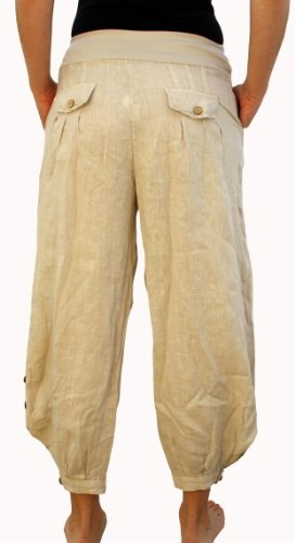 Perano - Pantalón - Básico - para mujer Beige