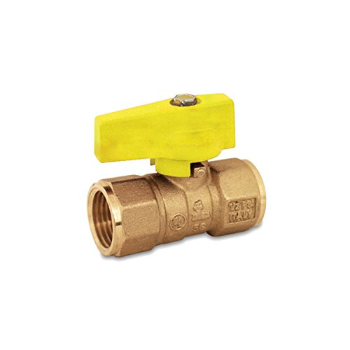 Red-White Valve 1RW5200 Gas Ball Valve (2 Piece), 1'' by Red-White Valve
