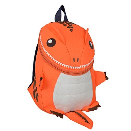 de nouveau la à animé d'école bébé de sac Loisirs dessin à enfant dos Sac Sac de petite enfance dos Scolaire d'éducation Orange mignon afz8Ww