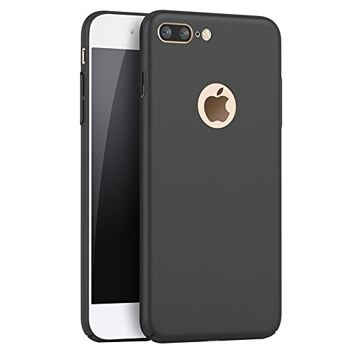 4d34beb0bf9 Negro Ultra-delgado Funda Case Cover y Protector de Pantalla Para Apple  iPhone 7 Plus 5.5 pulgadas Vooway® MS70196: Amazon.es: Electrónica