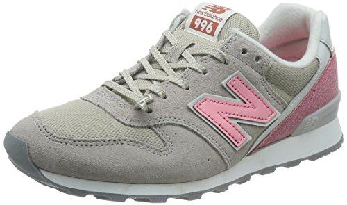 Gris Sneakers Basses New Balance Femme Wr996 Fuchsia w46WqBOn