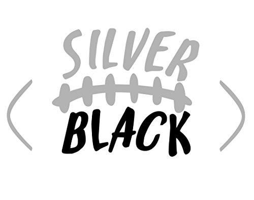 Vinyl Productions Silver Black Football - 7