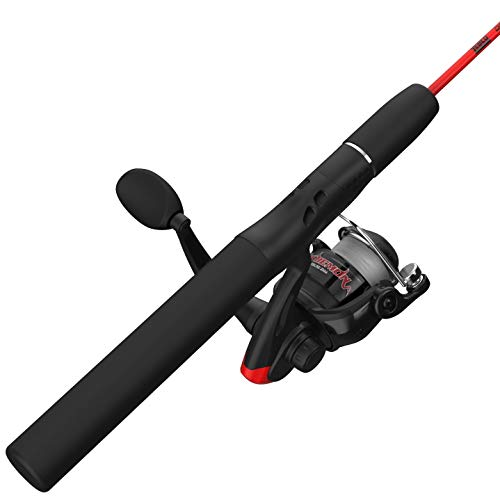 Zebco Dock Demon Spinning Reel and Fishing Rod Combo (Best Ice Fishing Pole)