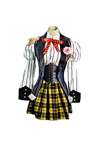 Nanami Haruka Cosplay Costume (Mtxc Women's Uta no Prince-sama Maji LOVE 2000% Cosplay Haruka Nanami Costume Size Large Black)