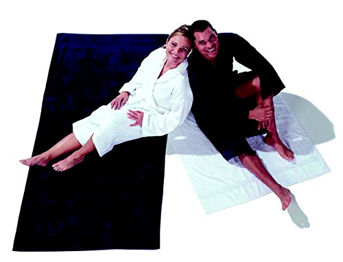baño toalla tamaño nbsp;– sábana nbsp;– nbsp;x Naturelle nbsp;cm sauna nbsp;Oferta de de Línea de nbsp; de 200 Gris 100 nv8wx0