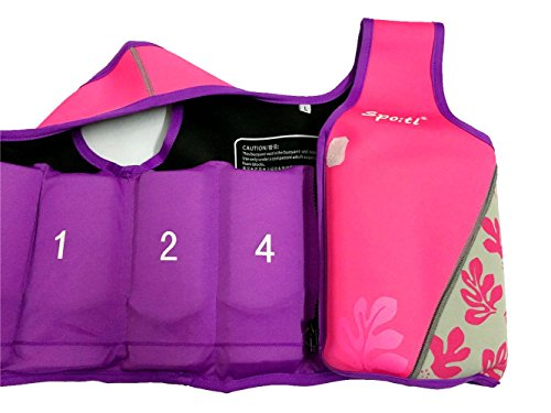 rayma-2016-kids-life-jacket-neoprene-wakeboard-swim-flotation-life-vest-print-pink-size-small-for-1-