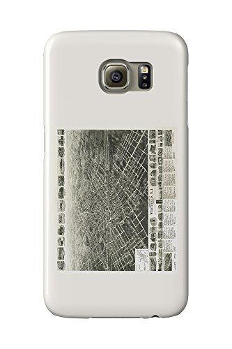 westfield-new-jersey-panoramic-map-galaxy-s6-cell-phone-case-slim-barely-there