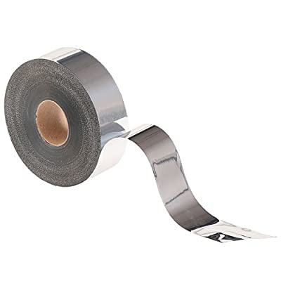 Metallic Streamer 2 Inches by 400 Feet Silver Roll Party Supplies Decorations: Home & Kitchen