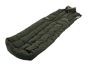 Carinthia - Chaleco tipo saco de dormir de caza (no hace ruido), color verde: Amazon.es: Deportes y aire libre