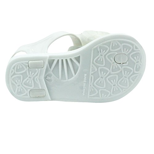 8c6eb5371192 Stepping Stones Girls Jelly Sandals Jelly Shoes Glitter Flower - Import It  All