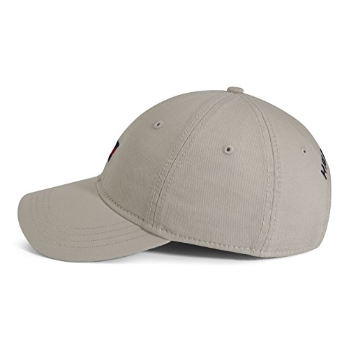 Tommy Hilfiger Men's Ardin Dad Baseball Cap, Stone, One Size